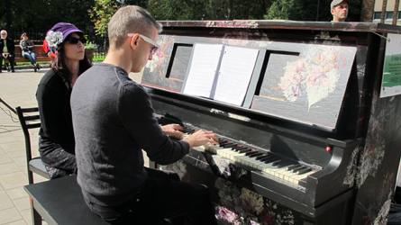 Un troisième piano de rue
