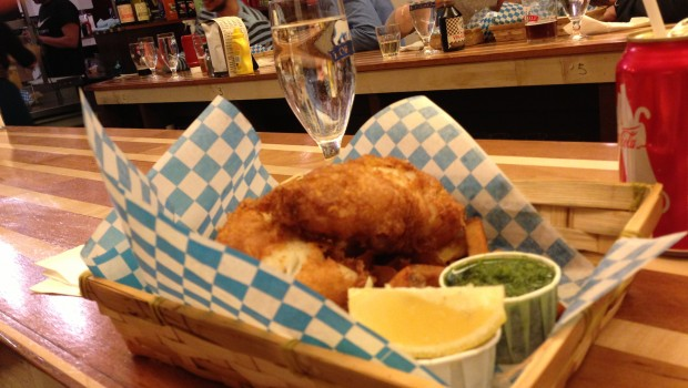 Le Comptoir 21 : fish and chips au coeur du Mile-End