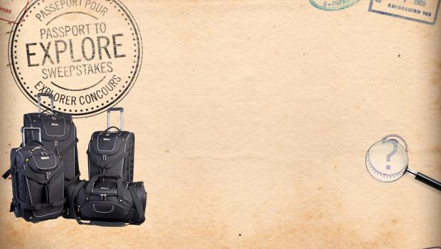 Concours National Geographic: Passeport pour l'Exploration !