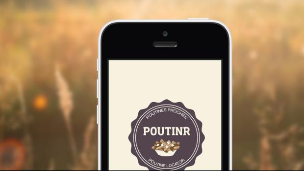 Poutinr, le localisateur de poutines sur iPhone