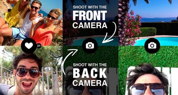 App de l'été : photographiez vos meilleurs moments des deux côtés !