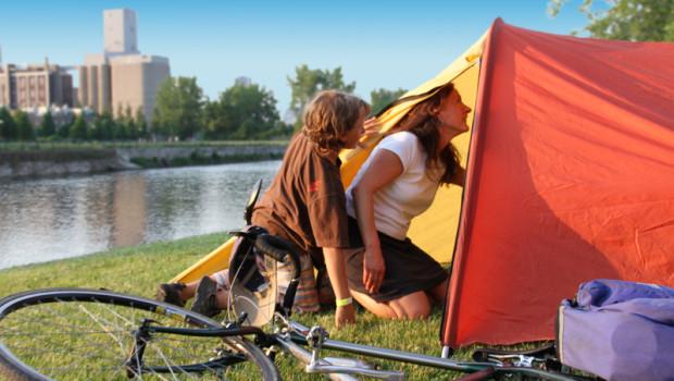 Initiation au camping au Canal Lachine, du 21 au 22 juin !