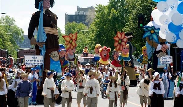 Défilé de la St-Jean Baptiste 2014