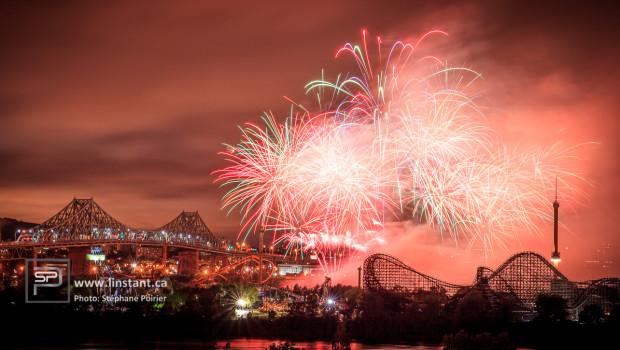 Les feux d'artifice Loto-Québec 2014 débutent dans 2 semaines