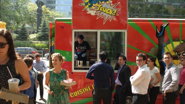 Détectez les food-trucks en temps réel avec l'application Pages Jaunes