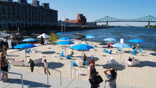 La plage du Quai de l'Horloge ouvre le 30 mai, entrée à 2$
