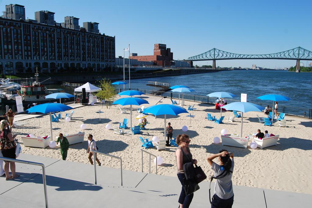 La plage du quai de l 39 horloge ouvre le 30 mai entr e 2 - Quoi faire au vieux port de montreal ...