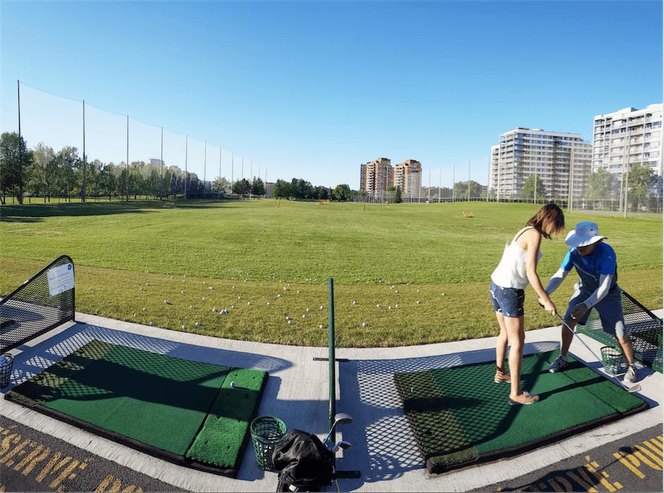 Un terrain de golf à 10 minutes du centre-ville de Montréal