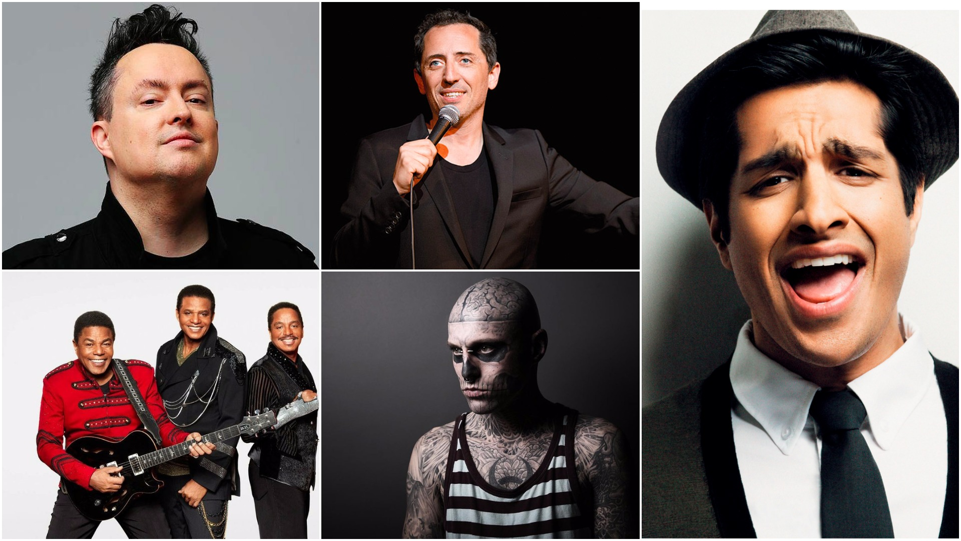 After-partys Juste pour Rire avec Sugar Sammy, Gad Elmaleh, Mike Ward, Zombie Boy et The Jacksons