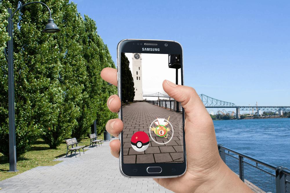 Pokémon Go disponible à Montréal