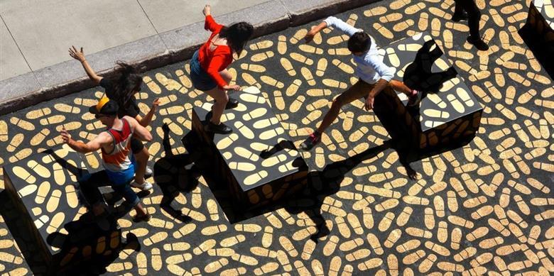 Un dancefloor géant au Musée des beaux-arts de Montréal