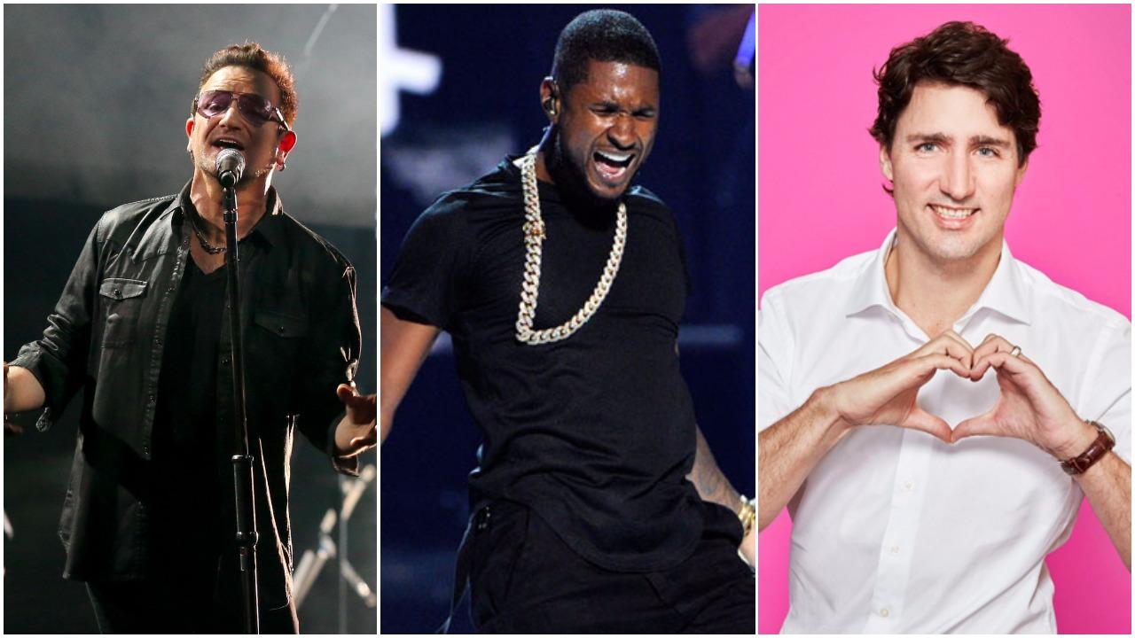 Global Citizen offre un concert gratuit au Centre Bell avec Usher, Bono et Half Moon Run