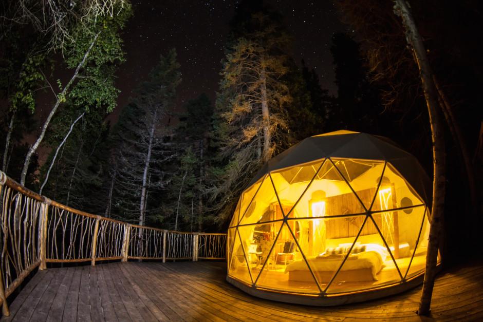 4 endroits au Québec où camper de façon originale