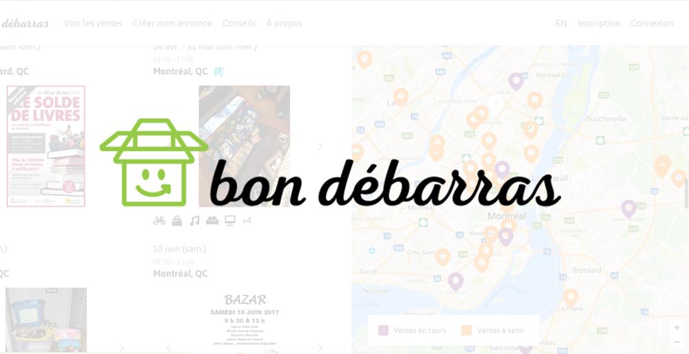 Bon débarras : le nouveau site pour dénicher de bonnes affaires à Montréal